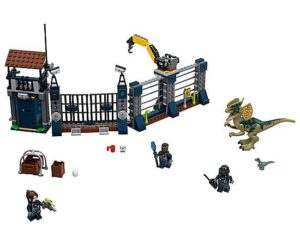 LEGO Jurassic World Dilophosaurus Outpost Attack (75931)