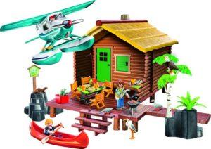 Playmobil Καλύβα Λίμνης & Υδροπλάνο (9320)