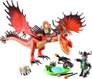 Playmobil Dragons Ο Μύξαρχος Με Τον Τσιγκελοδόντη (9459)