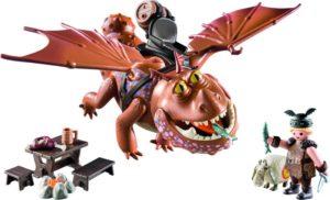 Playmobil Dragons Ο Λέπιας Με Τον Χοντροκέφαλο (9460)