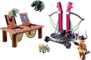 Playmobil Dragons Ο Σκόρδος Με Καταπέλτη Προβάτων (9461)