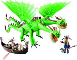 Playmobil Dragons Ο Πέτρος & Η Πέτρα Με Τον Ρέψιμο & Αναγούλα (9458)