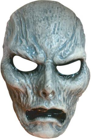 Clown Μάσκα Πλαστική Ζόμπι Με Κίνηση Στο Στόμα (72381)
