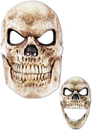 Clown Μάσκα Σκελετός Με Κίνηση Στο Στόμα (72390)