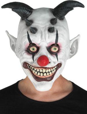 Clown Μάσκα Latex Κλόουν Κέρατα (72550)