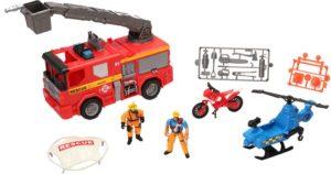 CM Rescue Squad Πυροσβεστικό Όχημα Playset (541054)