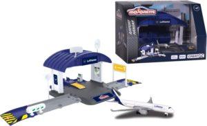 Majorette D/C Σετ Creatix Αεροδρόμιο Lufthansa Version (212050017)