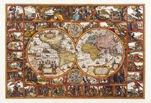 Clementoni Παζλ 6000 Παλιός Χάρτης (1220-36504)