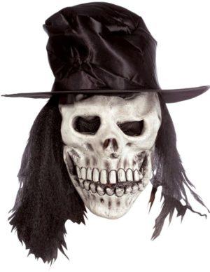 Clown Μάσκα Latex Χάρου Με Καπέλο (73471)