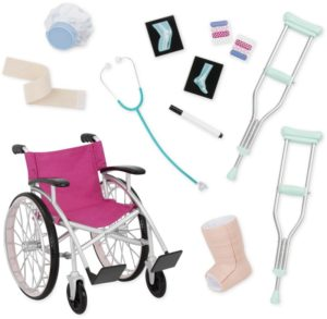 Our Generation Ιατρικό Σετ & Αναπηρικό Αμαξίδιο (BD37432Z)