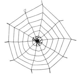 Clown Αξεσουάρ Spiderweb Elastic 150cm & Spider (74475)