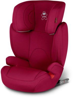 Chicco Cbx Κάθισμα Αυτοκινήτου Solution 2 Fix 2/3-Red Color (WR3-1581-00)