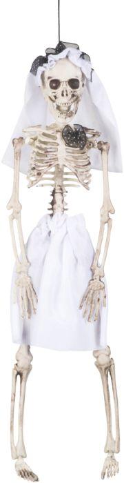 Clown Αξεσουάρ Decoration Skeleton Bride 41cm (72089)
