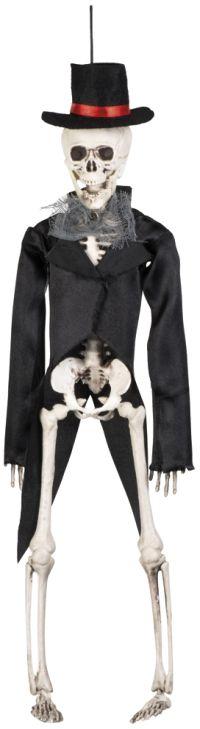 Clown Αξεσουάρ Decoration Skeleton Groom 43cm (72090)