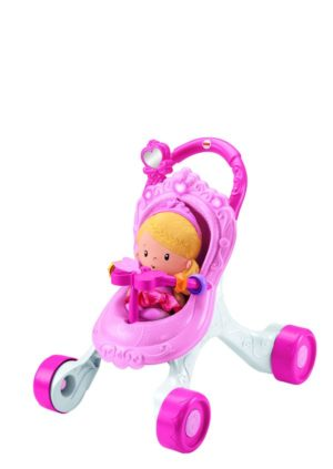 Fisher Price Princess Mommy Gift Set-Στράτα Καροτσάκι (DGM71)