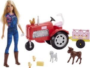 Barbie Farmer Σετ Τρακτέρ & Κούκλα (FRM18)