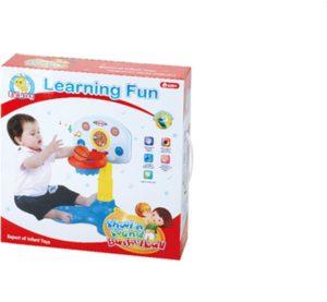 BW Basketball Shoot N'Sound B/O Learning Fun (33860)