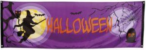 Clown Αξεσουάρ Banner Midnight Moon Halloween (76922)