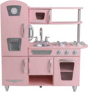 KidKraft Ξύλινη Κουζίνα Vintage Pink (53179)