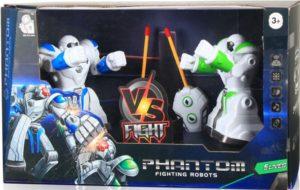 BW Σετ Phantom Fighting Robot B/O (601-2)