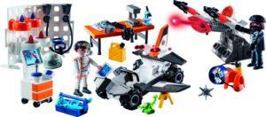 Playmobil Χριστουγεννιάτικο Ημερολόγιο-Εργαστήριο Της Spy Team (9263)