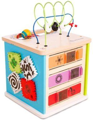 Hape Kids II Ξύλινο Newton Cube Κύβος Δραστηριοτήτων (11656)