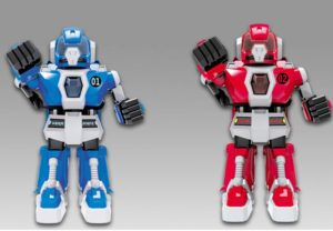 BW Fighting Robot B/O w/l+s (333-VS03A)
