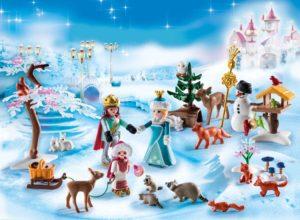 Playmobil Χριστουγεννιάτικο Ημερολόγιο ''Πριγκιπικό Πατινάζ'' (9008)