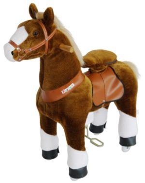 PonyCycle Ride On Αλογάκι Καφέ M (N4151)