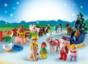 Playmobil 1.2.3 Χριστουγεννιάτικο Ημερολόγιο ''Χριστούγεννα Στη Φάρμα'' (9009)