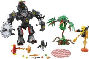 LEGO Super Heroes Batman Mech vs. Poison Ivy Mech (76117)