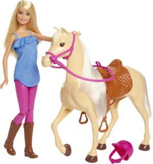 Barbie & Άλογο (FXH13)