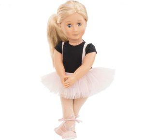 Our Generation Kούκλα Violet Anna Lee with Ballet Dress (BD31076Z)