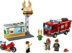 LEGO City Burger Bar Fire Rescue (60214)