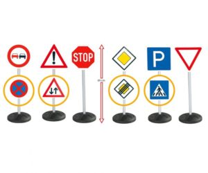 Big Mega Set Σήματα Οδικής Κυκλοφορίας (800001198)