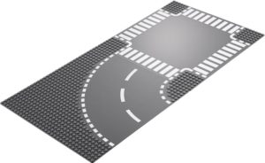 LEGO City Curve and Crossroad (60237)