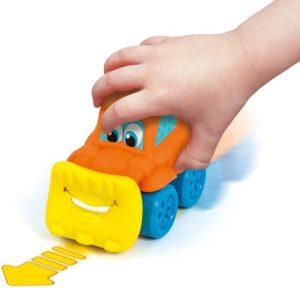 Clementoni Baby Αυτοκινητάκια Soft & Go-4 Σχέδια (1000-63161)