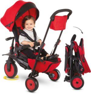 Smart Trike Τρίκυκλο STR7 8 in 1 Folding Red (5502202)