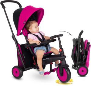 Smart Trike Τρίκυκλο STR3 6 in 1 Folding Pink (5021233)
