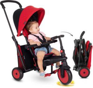 Smart Trike Τρίκυκλο STR3 6 in 1 Folding Red (5021533)