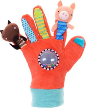 Eurekakids Κούκλες Κουκλοθέατρου Glove Puppets Red (690008)