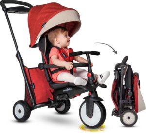 Smart Trike Τρίκυκλο STR5 Melange 7 in 1 Folding Red (5055500)