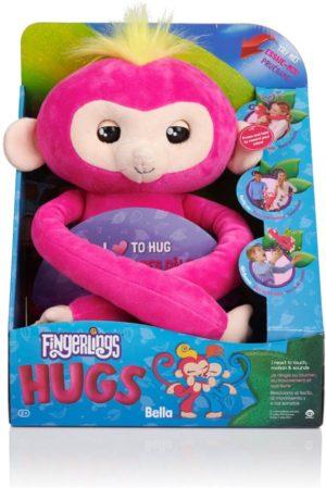 WowWee Fingerlings Monkey Hugs-Αγκαλίτσας (3530)