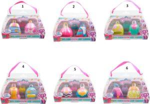 Kekilou Σετ 2 Κούκλες-6 Σχέδια (KKL01000)