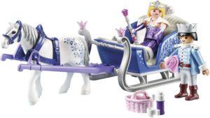Playmobil Έλκηθρο Με Βασιλικό Ζευγάρι (9474)
