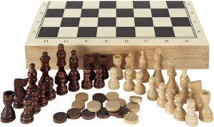 Eurekakids Σκάκι-Τάβλι-Ντάμα 3 in 1 (6861070)