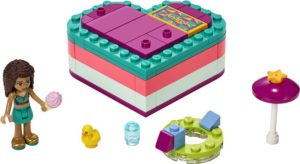 LEGO Friends Andrea's Summer Heart Box (41384)