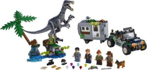 LEGO Jurassic World Baryonyx Face-Off: The Treasure Hunt (75935)
