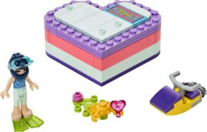 LEGO Friends Emma's Summer Heart Box (41385)