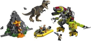 LEGO Jurassic World T. Rex vs Dino-Mech Battle (75938)